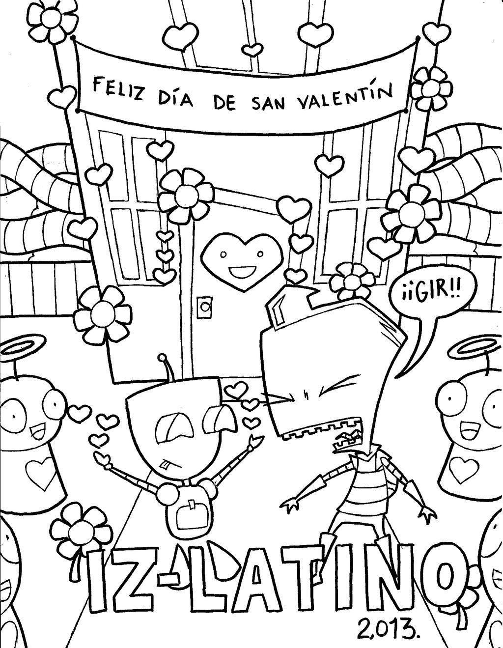 Feliz San Valentin 2013  para IZ Latino by CHICAIRKEN