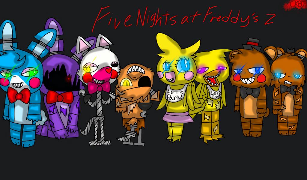 five nights at freddys 2 by cutekyurem809 on deviantart