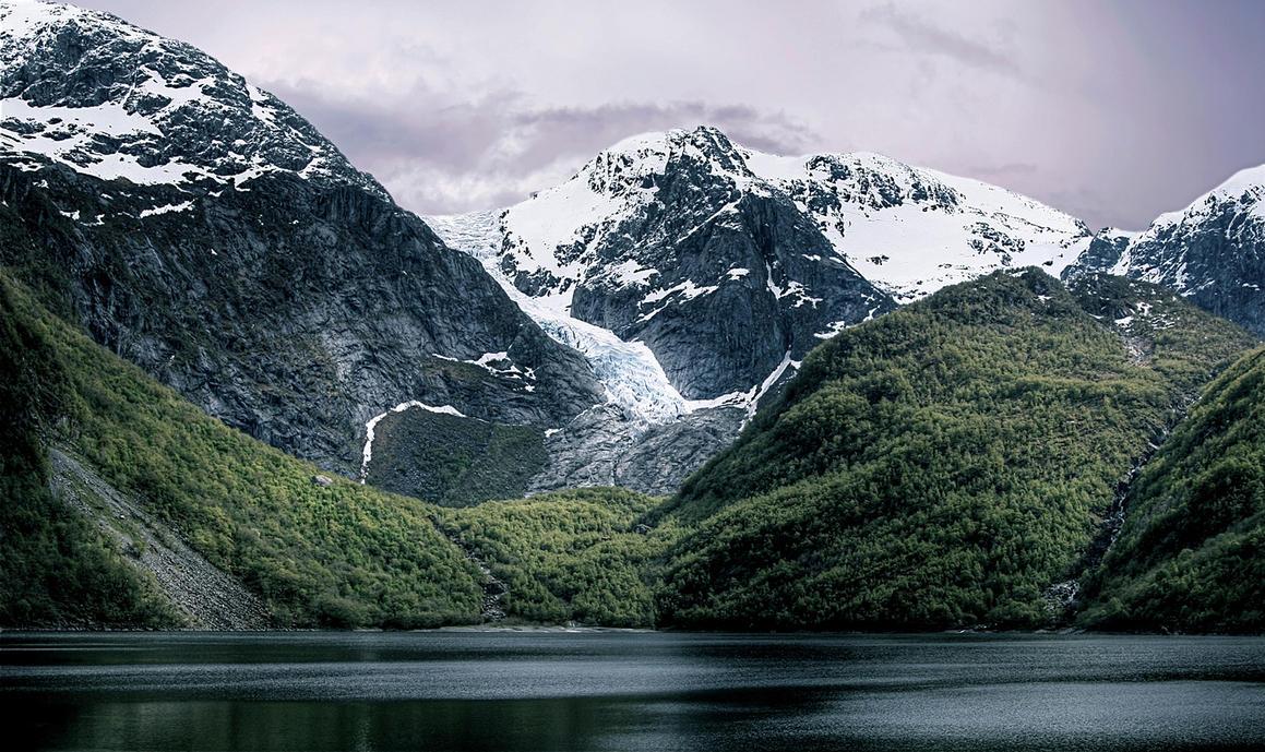 Folgefonna Glacier By Geironimo On DeviantArt