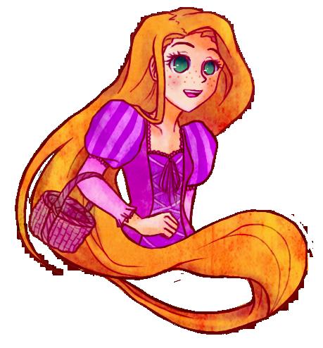 Rapunzel by iNintendo