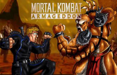 Stryker vs Kintaro Mortal Kombat by StrykerFanMK