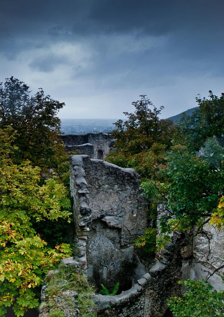 Fallen tower by iisjahstock
