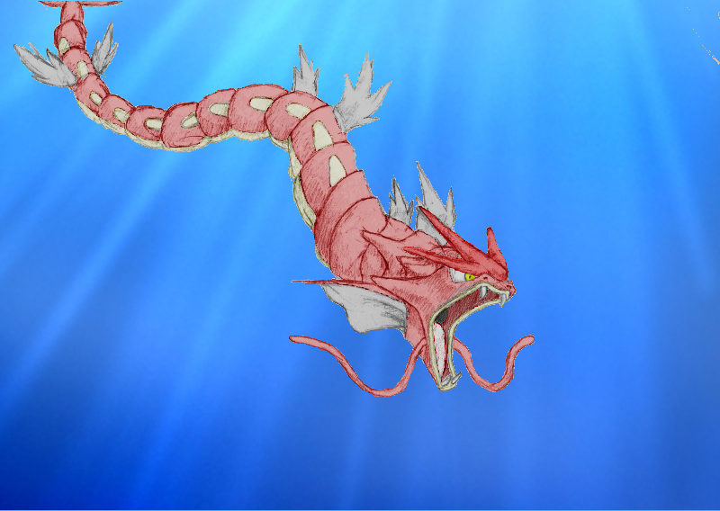 Red gyarados by mvidmaster on deviantart red gyarados by mvidmaster voltagebd Images