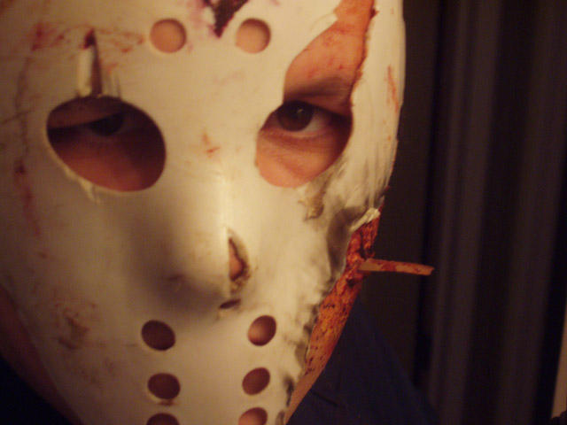Me as Jason Vorhees by ccWildcard