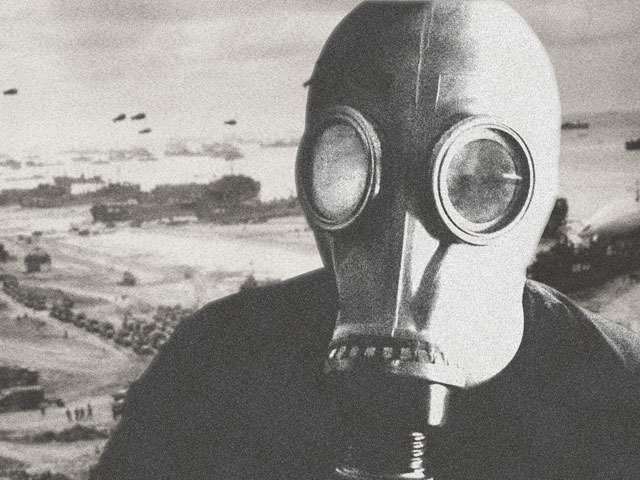 Self Portrait: Gas Mask by ccWildcard