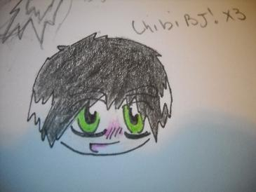 Chibi Billie Joe X3 by EMO-FEET