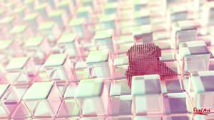 Pink Wallpaper by FlitsArt