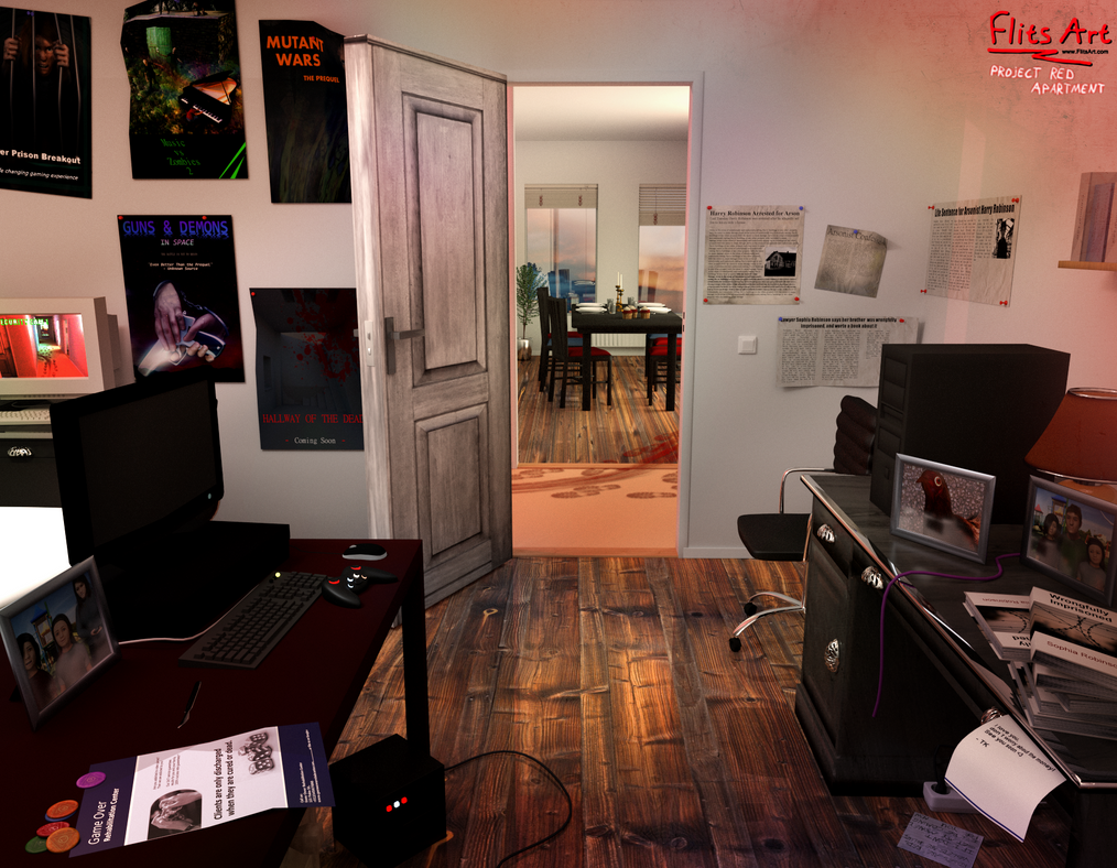 Renders 3d For Master Bedroom Project: Project: Murder Mystery