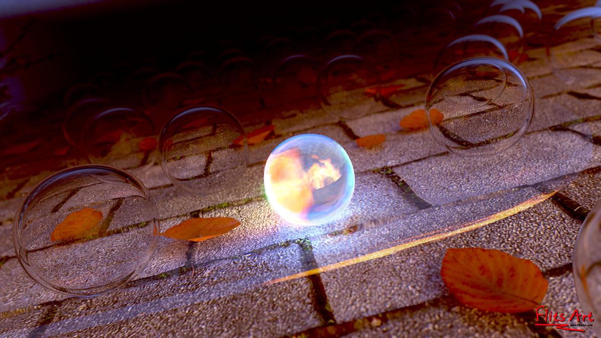 Fall Glow by FlitsArt