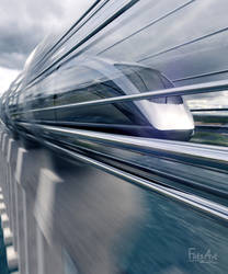 High-Speed Travel by FlitsArt