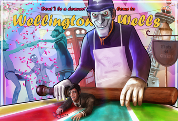 'We Happy Few' contest entry by FlitsArt