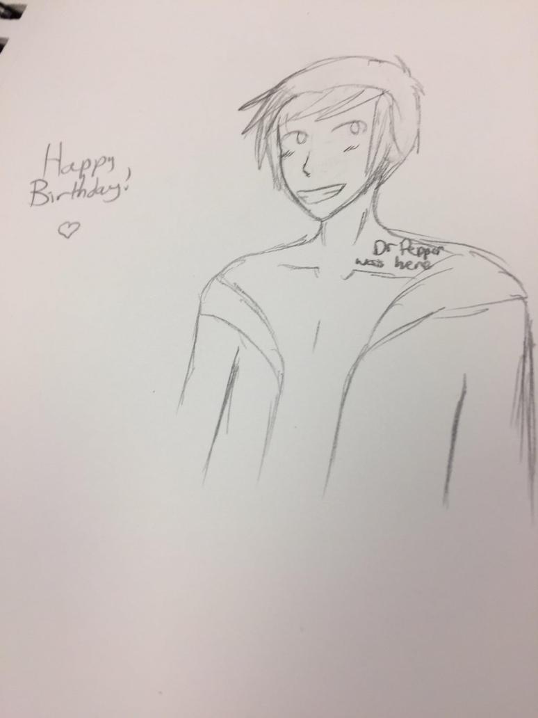 Happy Birthday oukamocha! by Purplepanc