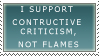 Critique Stamp by Saiyajin-hime