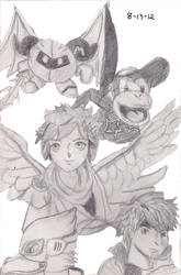 Smash Bros. Brawl sketch