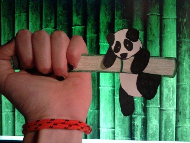 Falling Panda by ninjainthemud