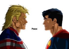All Might and Superman