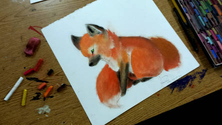 Red Fox by Reesling