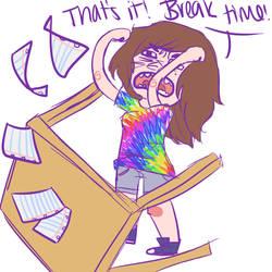 6- Break by RaenyBoots