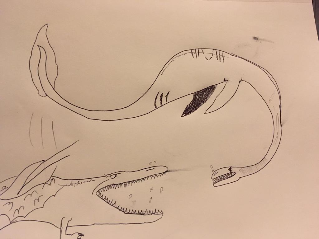 altamaha-ha VS Bear lake monster by Professorfish