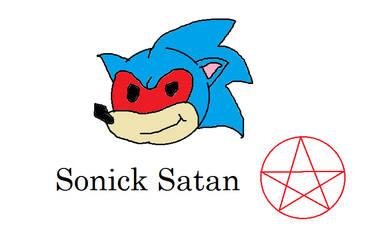 Sonic Satan by DezzyGBird