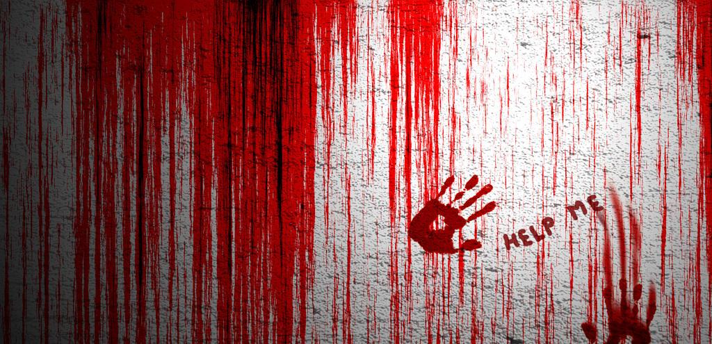 Wall and Blood by DUKEYAMASAKI