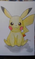 [Watercolor - Fanart] Pikachu - By Duke
