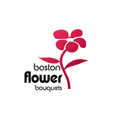 Boston flower buquet logo by navmax