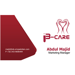 B-Care Business Card Design by navmax
