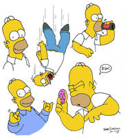 Practise Homer by BUBBLE89