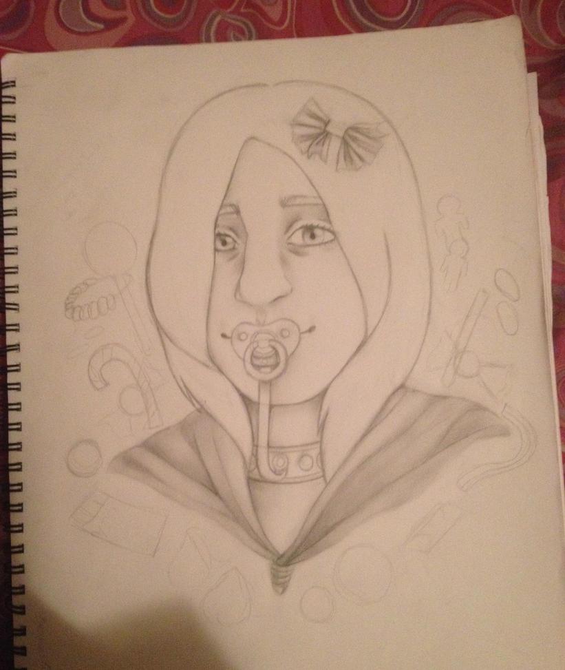 Portrait of a Friend (WIP) by girloftheknight