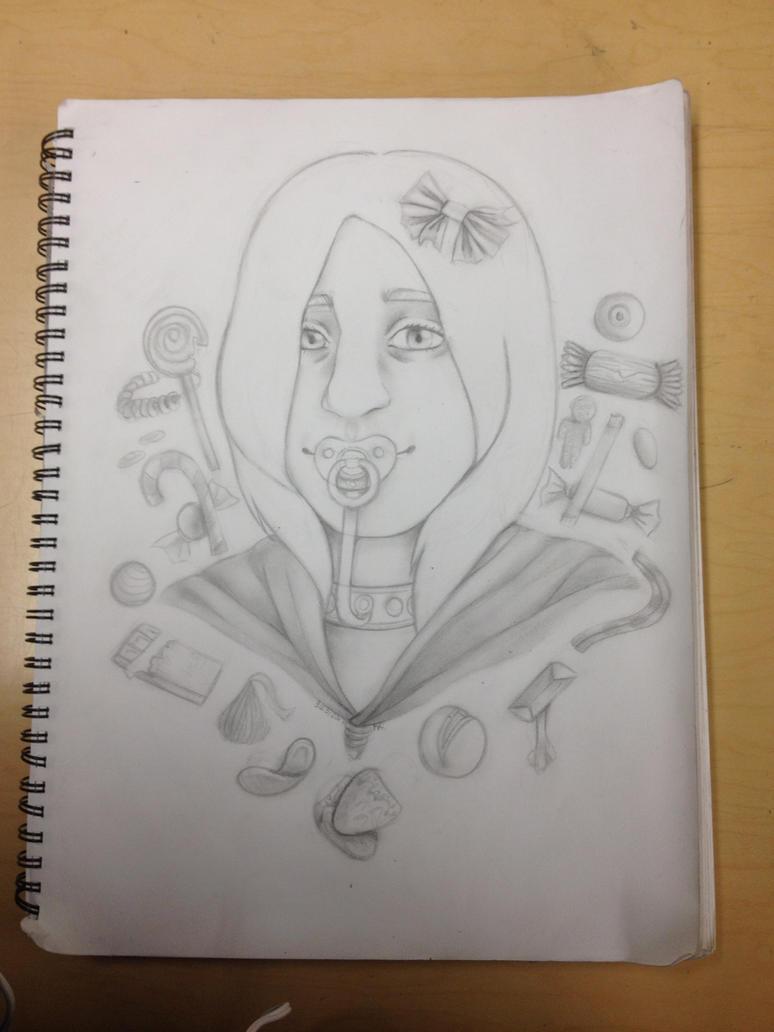 Portrait of a Friend (WIP 2) by girloftheknight