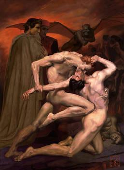 William Bouguereau, Dante et V