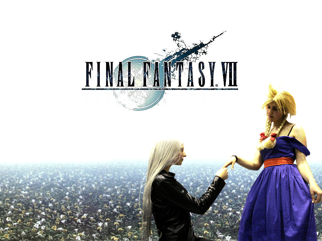 Sephiroth with Miss Cloud by LoveRikuKH