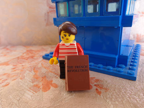 Custom Made Susan Foreman Lego