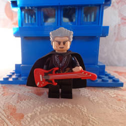 Custom Made Twelfth Doctor Lego With Guitar