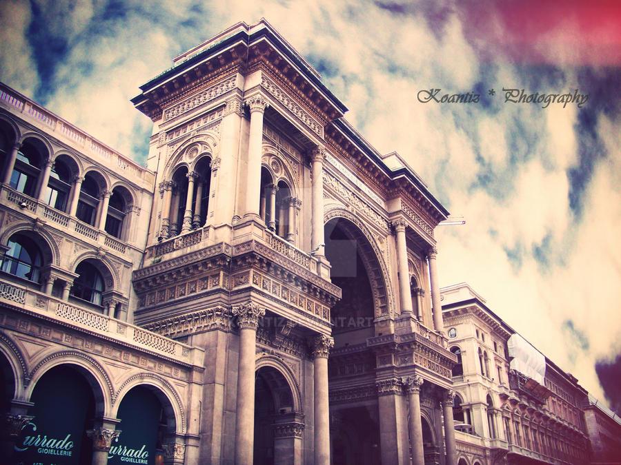 Galleria Vitorio Emmanuele II, Milan by Koantiz