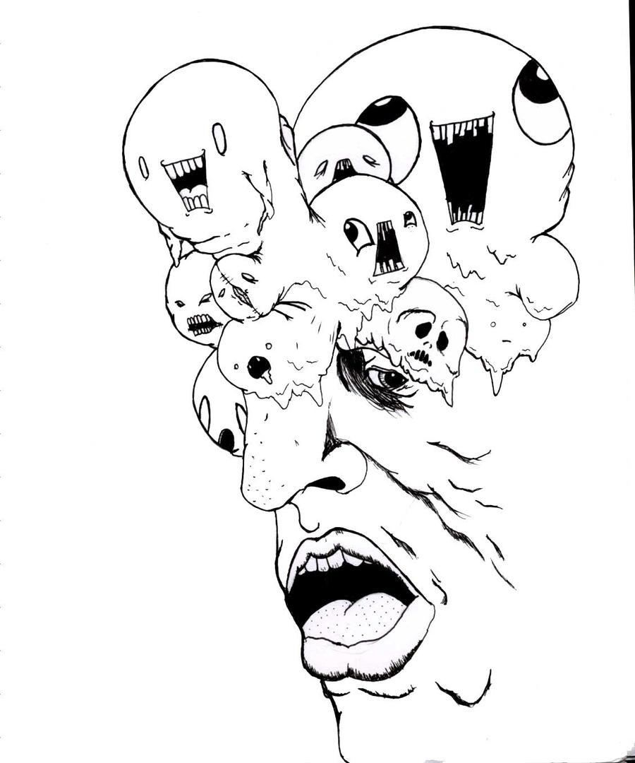 schizophrenia by idiotboy04 on DeviantArt