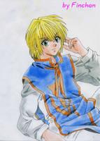 Kurapika - First outfit by Finchan