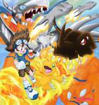 Taichi and Agumon - new