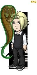 Draco Malfoy by magnusandalec