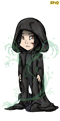 Severus Snape-Teen- by magnusandalec