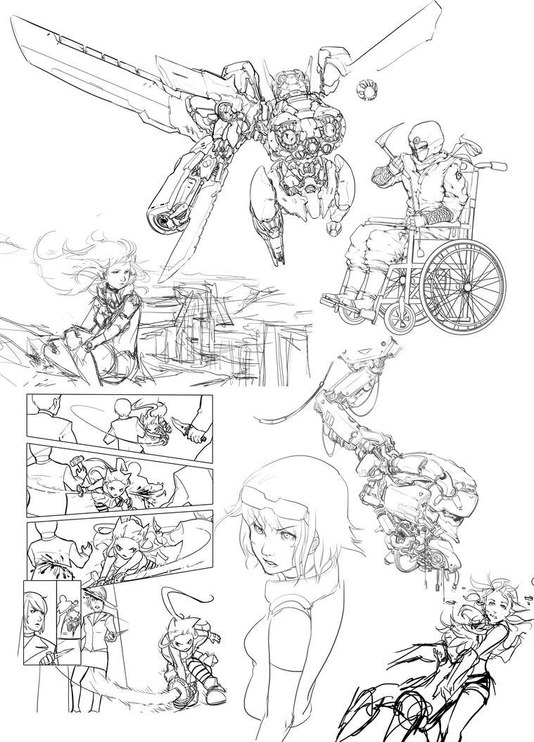 Sketch dump1 by mqken