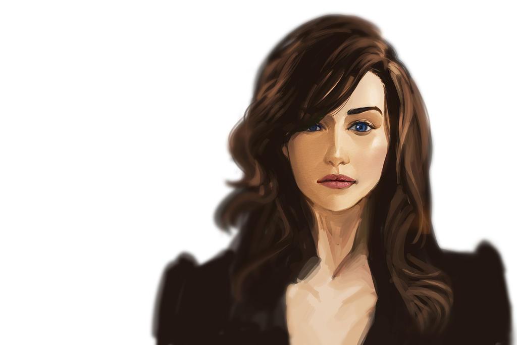 Emilia Clarke by mqken