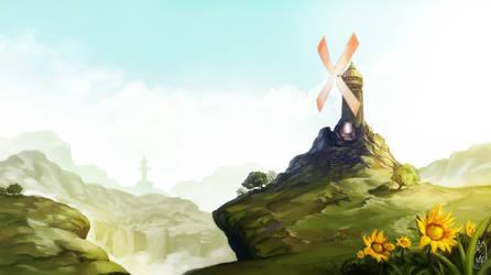 The Eternal Windmill by mqken