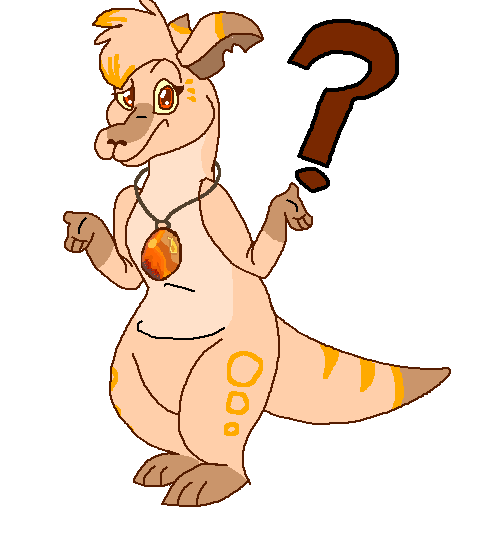 Amber roo is confused by GingerStars