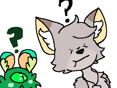 Smoky is confused by GingerStars