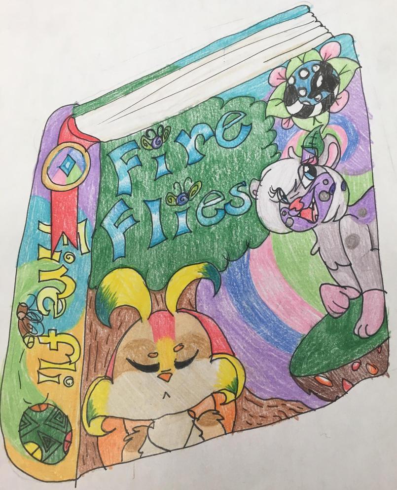 Fireflies book cover idea  by GingerStars