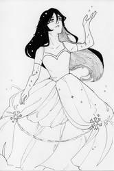 Drake Snow Princess Sketch [by Bokchoichoi] by TheGamingCentaur