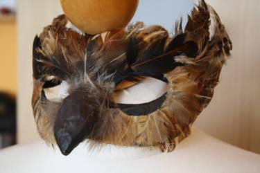owl half face mask