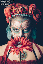 Day of the dead - dia de los muertos make up